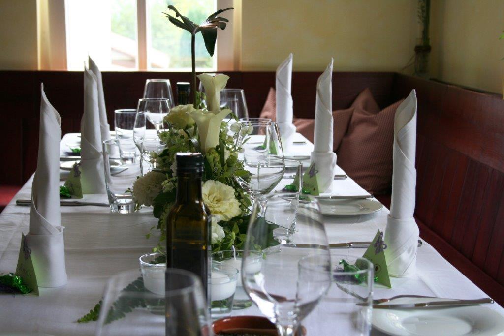 Tafel 6 Personen : Restaurant